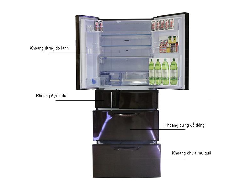 Tủ lạnh MITSUBISHI MRJX64WBRV