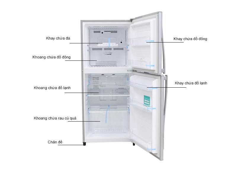 Tủ lạnh Toshiba S19VPP(S)