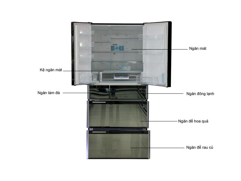 Tủ lạnh Hitachi C6800SX
