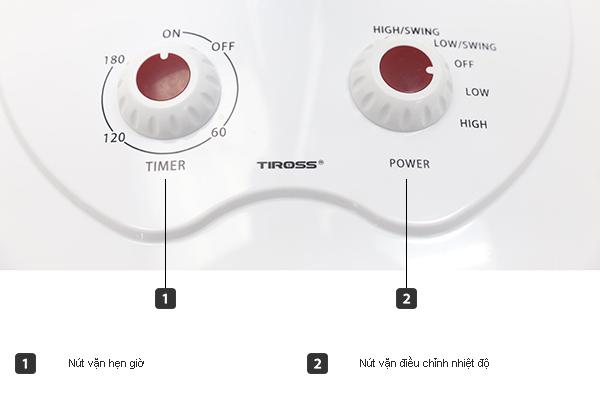 Quạt Sưởi Tiross TS929