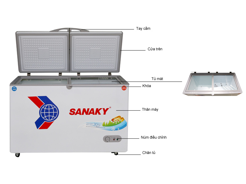 Tủ đông Sanaky VH3699W1
