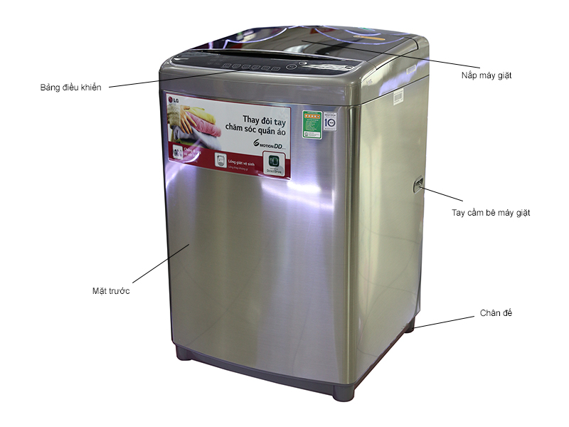 Máy giặt LG Inverter WFD1517HD
