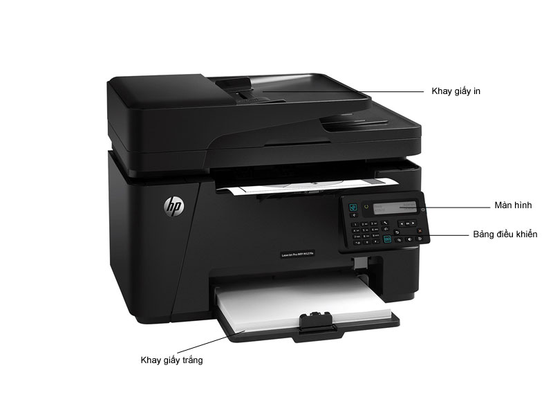 Máy in laser đa năng HP LaserJet Pro MFP M127FN