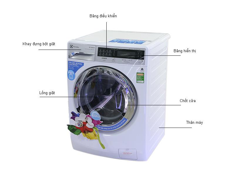 Máy giặt sấy Electrolux EWW14012