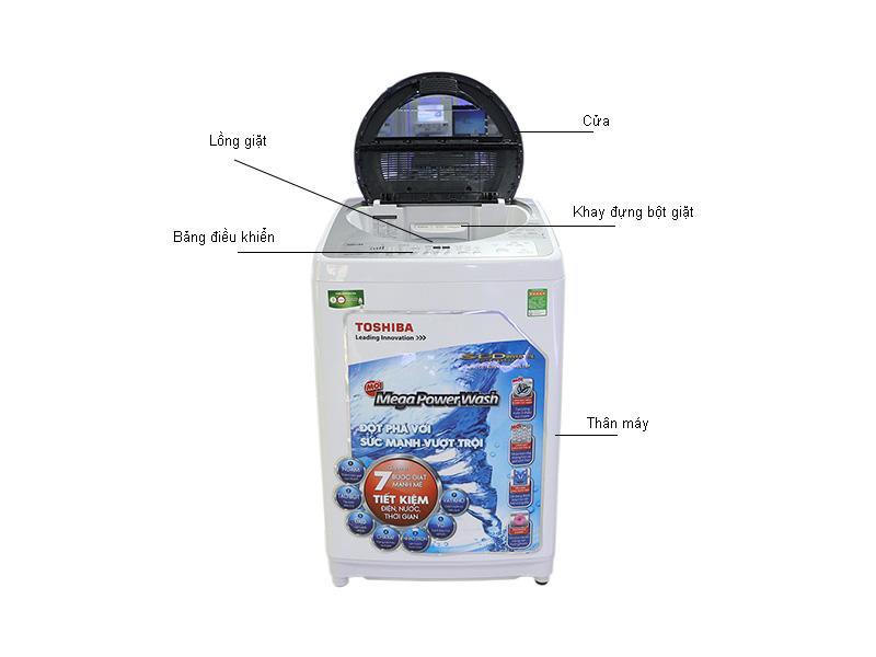 Máy giặt Toshiba DC1500WVWS