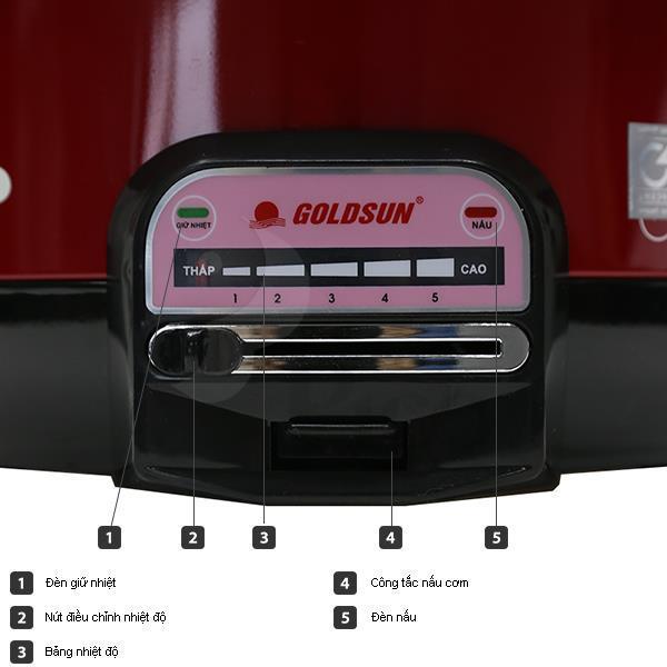 Lẩu điện GOLDSUN MCGAL30R