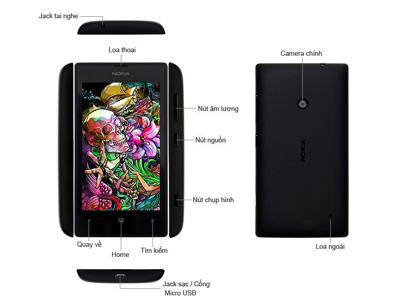 Nokia Lumia 525 - Vàng