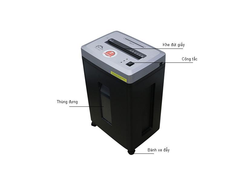 Máy hủy tài liệu Silicon PS610C