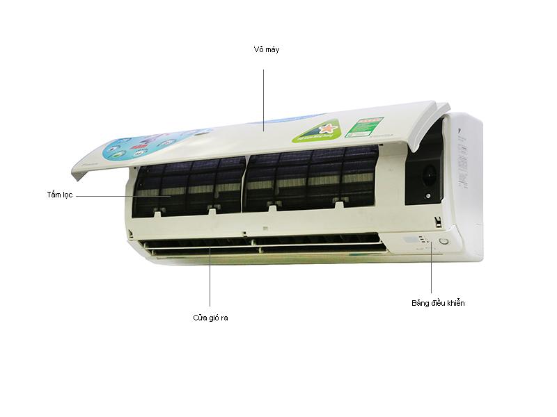 Điều Hòa 2 Chiều Inverter Daikin FTXS25GVMV 8.500BTU