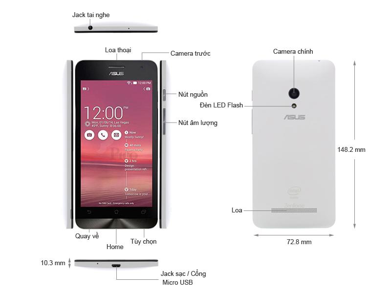 Asus Zenfone 5 A501CG Purple