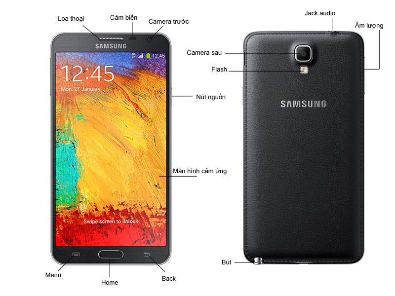 Samsung GALAXY NOTE3 NEO N750 - Trắng