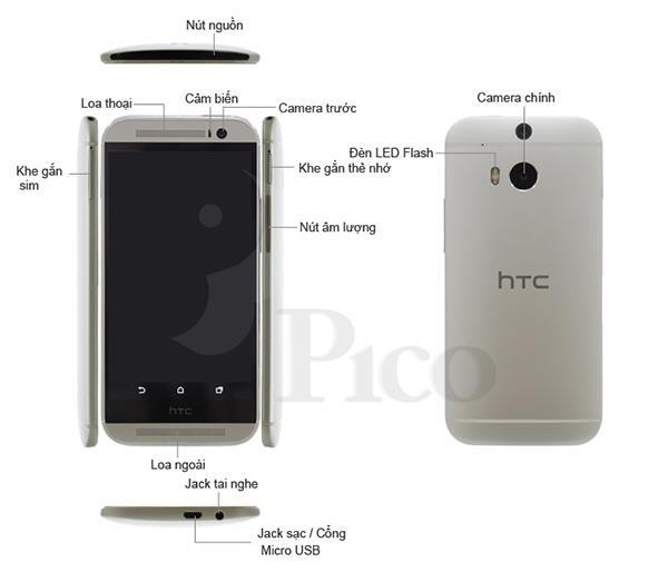 HTC One M8 - Xám
