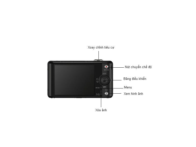 Máy ảnh Sony DSCWX220 - Đen