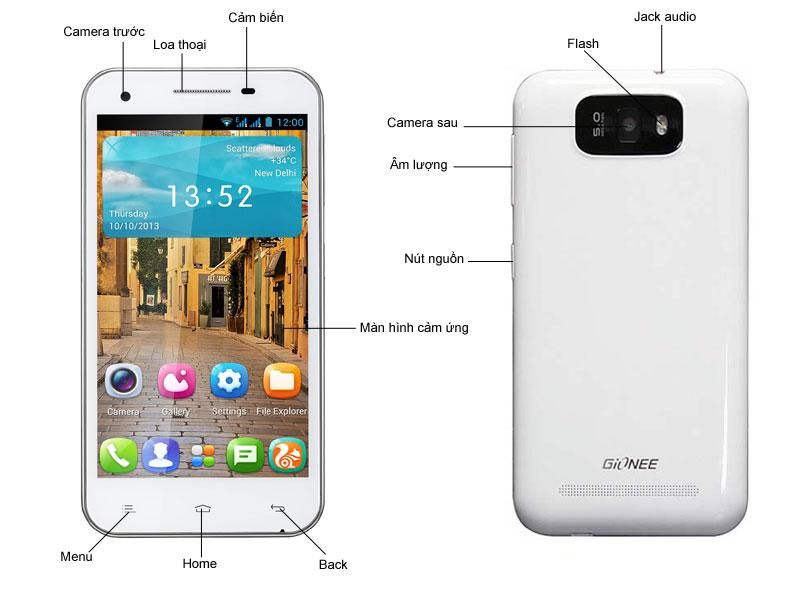 Điện thoại di động Gionee Gpad G3 Black
