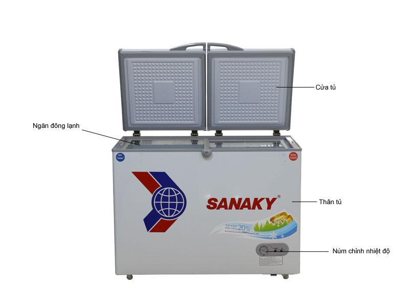 Tủ đông Sanaky VH4099W1