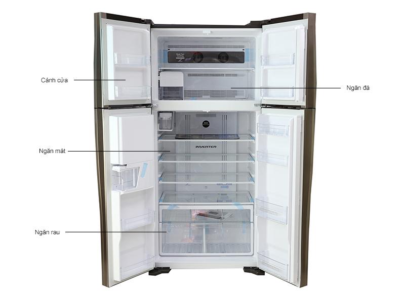 Tủ lạnh Hitachi W660FPGV3XGBW