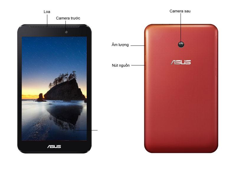Máy tính bảng Asus Fonepad 7 FE170CG-1A026A DC 1.2Ghz, 8GB, wifi/3G đen