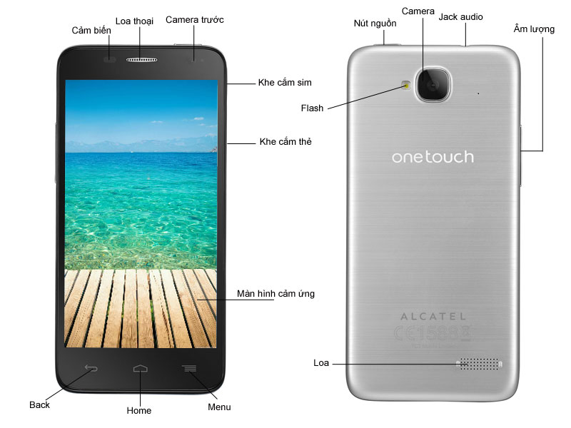 Alcatel  6012D Bac