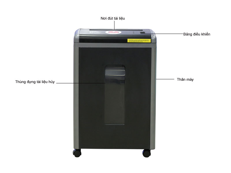 Máy huỷ tài liệu Silicon PS 620C