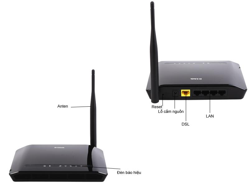 Bộ phát sóng Wireless DLink - DIR600M 150Mbps