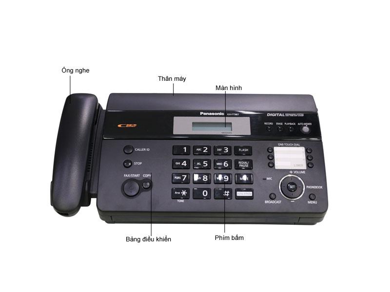 Máy fax nhiệt panasonic  KXFT987