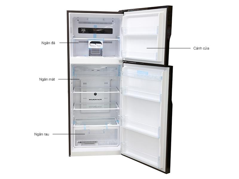 Tủ lạnh Hitachi VG470PGV3GBW
