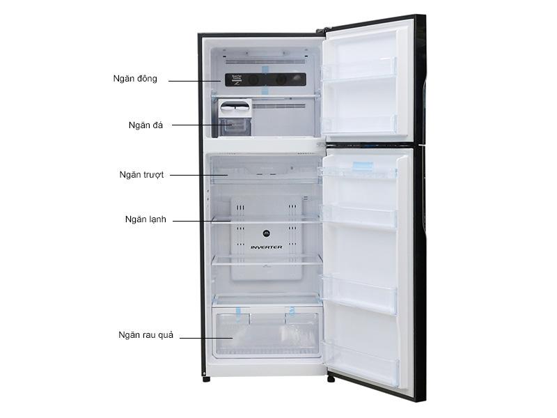 Tủ lạnh Inverter Hitachi VG470PGV3GBK