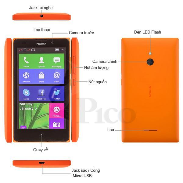 Nokia XL Bright Yellow - RM1030