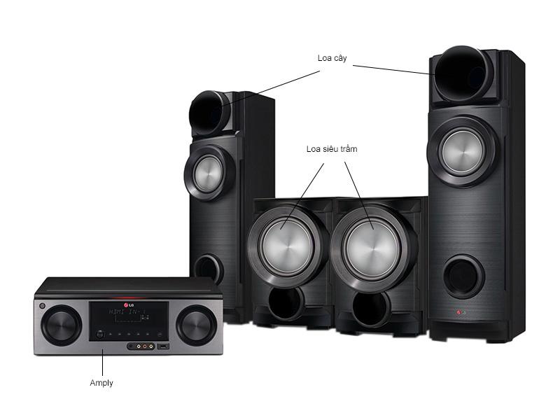 Dàn âm thanh Bluray 3D LG ARX5500