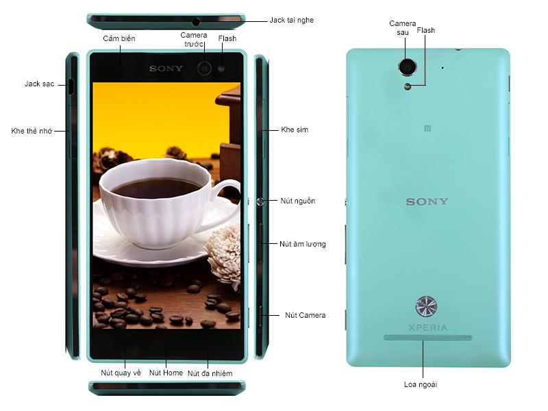 Sony Xperia C3 D2502 - Đen