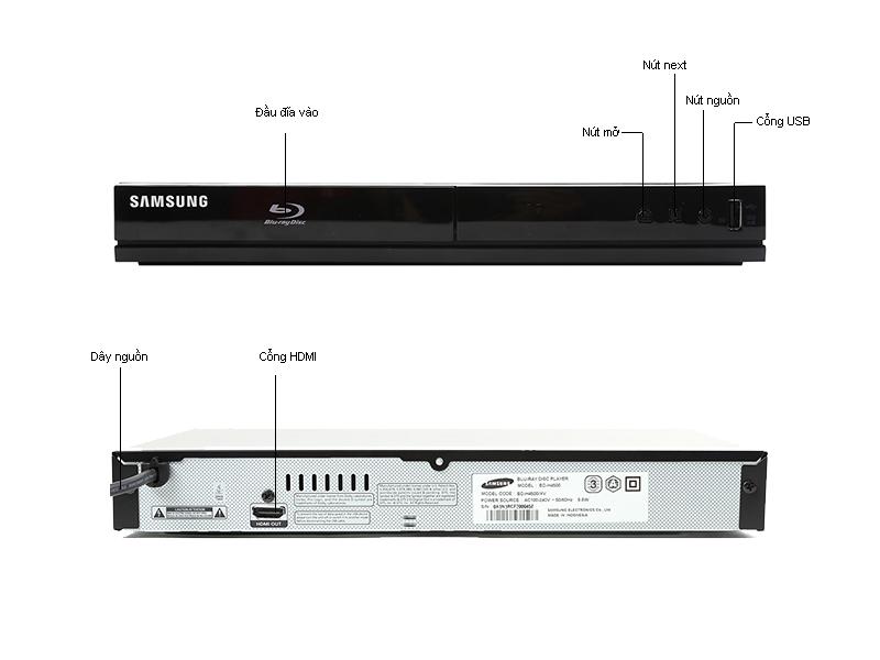 Đầu Blu-ray Samsung BD-H4500/XV, USB
