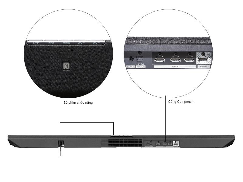 Loa Sound Bar Sony HT-CT370//BCSP1 + Loa subwoofer không dây