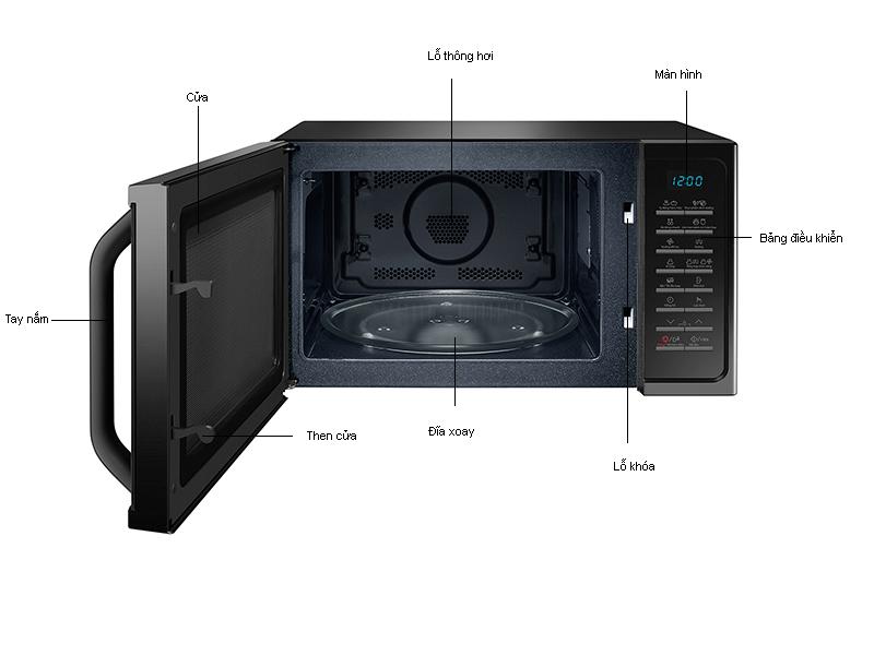 Lò Vi Sóng Samsung MC28H5015AK/SV