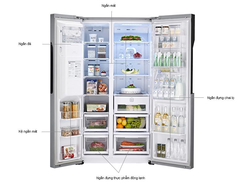 Tủ lạnh SBS LG GRP267JS - 609L