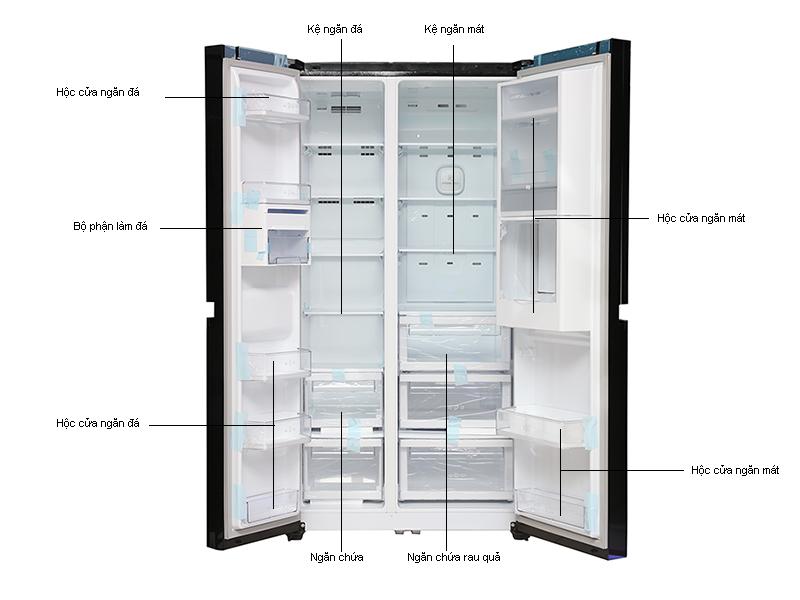 Tủ lạnh SBS LG GRR267LGK