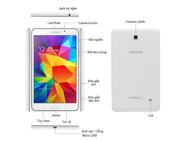 Samsung Galaxy Tab 4 T231 - Đen