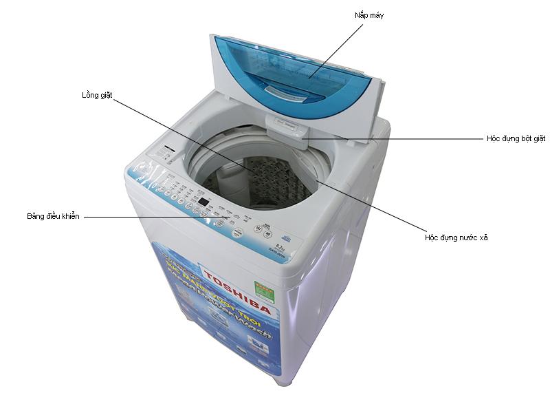 Máy giặt Toshiba AW-E920LVW - Tím
