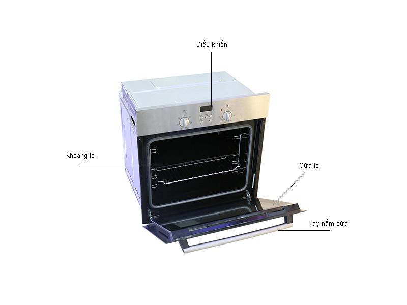 Lò nướng âm Bosch HBN331E2J