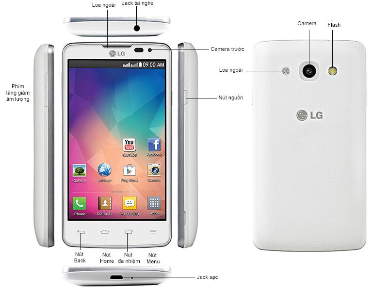 LG L60 ( LGX145 ) - Đen