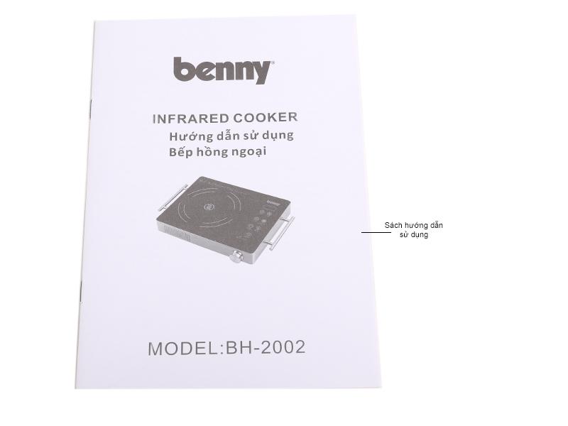 Bếp hồng ngoại Benny BH-2002