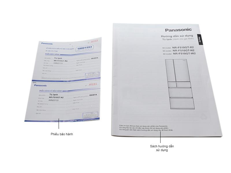 Tủ lạnh Panasonic NR-F510GTN2