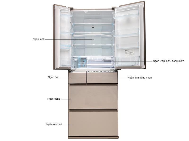 Tủ lạnh Panasonic NR-F510GT-N2