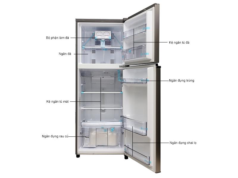 Tủ lạnh Panasonic NRBL267VSVN - Bạc Ánh Kim