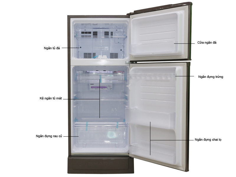 Tủ lạnh Sharp SJ-16VF2-BS