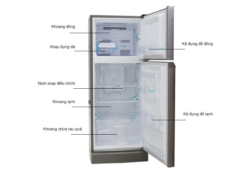 Tủ lạnh Sharp SJ212ESS - Bạc