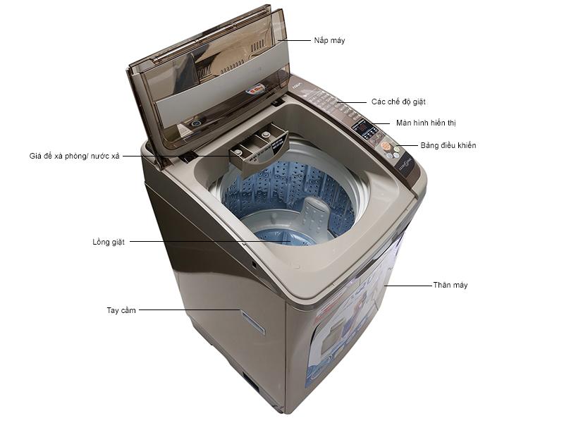 Máy giặt Sanyo  AQW-DQ900ZT(N)