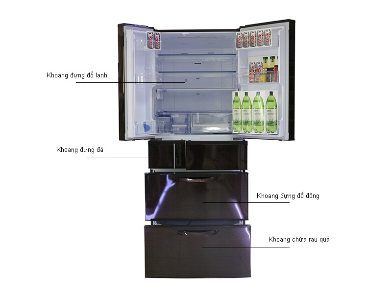 Tủ lạnh MITSUBISHI MRWX71YPV - Hồng Ánh Kim