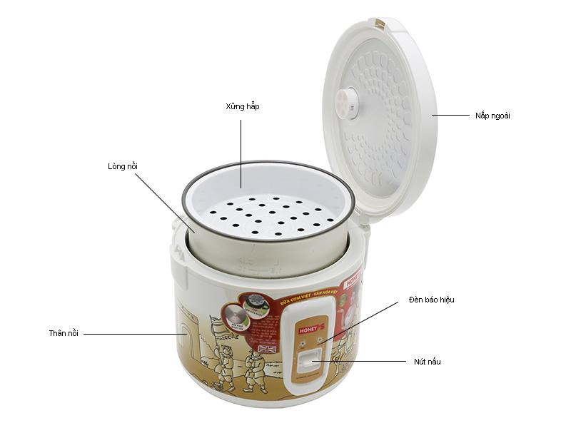 Nồi Cơm Điện Honey's HO704M18