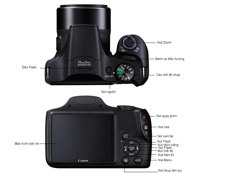 Máy ảnh Canon Power Shot SX 520 HS