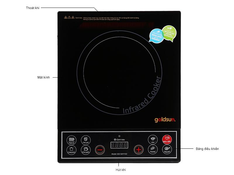 Bếp hồng ngoại Goldsun ECC-GHY-102